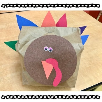 The Very Stuffed Turkey Book Companion | Story Questions and Retelling Activity