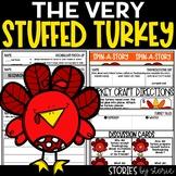 The Very Stuffed Turkey (Book Questions, Vocabulary, & Turkey Craft)