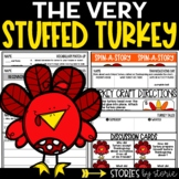 The Very Stuffed Turkey (Book Questions, Vocabulary, & Tur