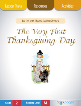 The Very First Thanksgiving Day Lesson Plans & Activities Package (CCSS)