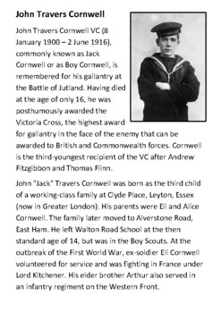 The Victoria Cross Handout