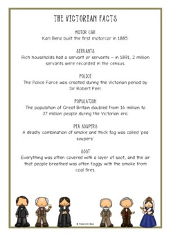 The Victorians Fact Cards