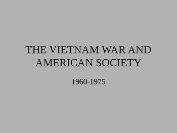 The Vietman War