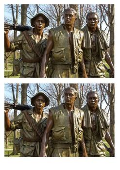 The Vietnam Veterans Memorial Word Search