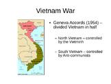 The Vietnam War PowerPoint Notes