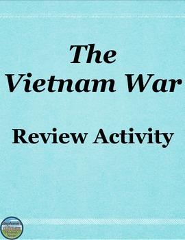 The Vietnam War Review Activity