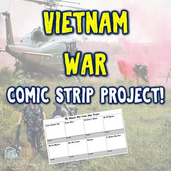 The Vietnam War Comic Strip Project