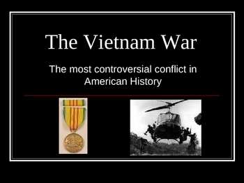 The Vietnam War power point