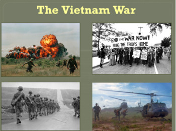 The Vietnam War PowerPoint Lesson