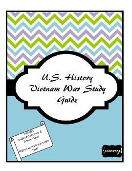 The Vietnam War Study Guide