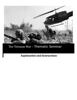 Socratic Seminar - The Vietnam War - Common Core Aligned