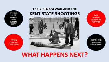 The Vietnam War and the Kent State Shootings:  What Happens Next?