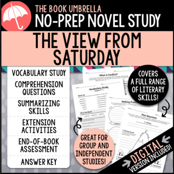 The View From Saturday Novel Study by TheBookUmbrella | TpT