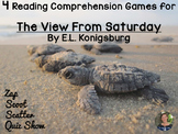 The View From Saturday reading comprehension GAMES - 4 in 1!