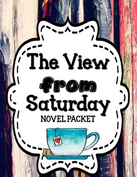 The View from Saturday - Novel Unit BUNDLE