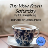 The View from Saturday by E. L. Konigsburg Novel Study Bundle of Resources