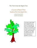 The View from the Kapok Tree (Point of View Lesson) Common Core