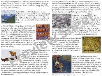 The Vikings - A short History
