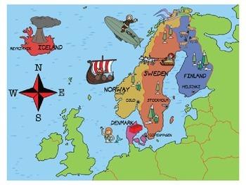 Vikings - Home Life Quiz/Plenary Activity