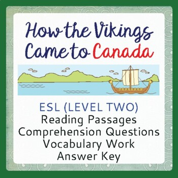 The Vikings - How the Vikings Came to Canada (ESL 2)