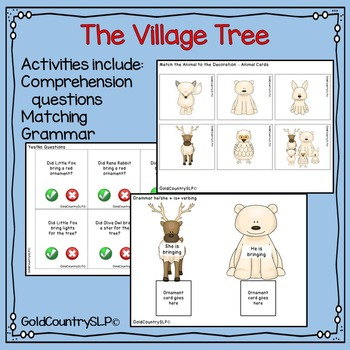 The Village Tree - Digital eBook & Companion Activities