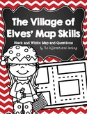 The Village of Elves' Black and White Map Skills