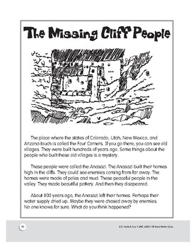 The Villages of the Four Corners: Historical Mini Lesson for Grades 1–3