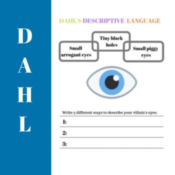 Create a  Roald Dahl Villain