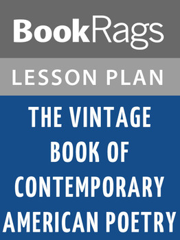 The Vintage Book of Contemporary American Poetry Lesson Plans