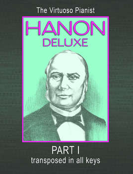 PIANO - The Virtuoso Pianist by C. L. HANON - Part 1 transposed in all keys