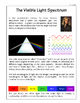 The Visible Light Spectrum - Science Lesson and Notebooking Pages