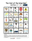 The Visit of The Wise Men - Vocabulary Board