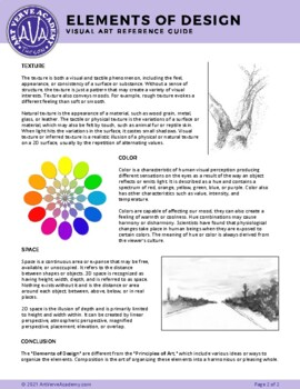 The Visual Elements of Art