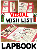 Autism Visual Wish List Lapbook: List for Visual Learners