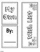 Autism Visual Wish List Lapbook: List for Visual Learners