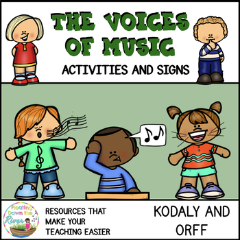 The Voices of Music Kodaly and Orff