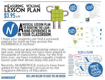 VOLUME Worksheets ★ Volume Activities ★ Volume Game ★ Volume Math Song ALL IN 1