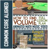 VOLUME Worksheets ★ Volume Activities Bundle ★ Volume Math Song ALL IN 1