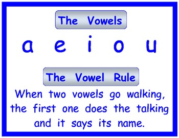 The Vowel Rule