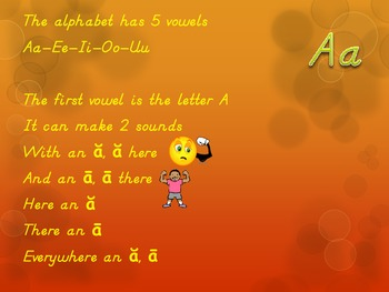Short and Long Vowel Sounds-Learn Through Singing