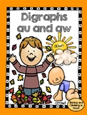 Digraphs aw and au - Word Work
