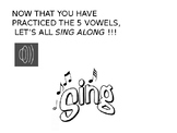 THE VOWELS LESSON (with sing-along song)
