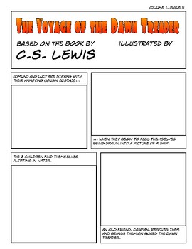The Voyage of the Dawn Treader - Draw Your Own Comic / Graphic Novel