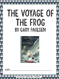 The Voyage of the Frog by Gary Paulsen Novel Packet