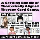 The WDEP & REBT Card Games Bundle: Goal Setting, Coping Skills