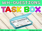 The WH-Questions Task Box {individual task box}