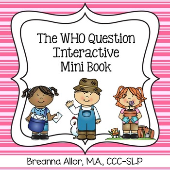 The WHO Question Interactive Mini Book