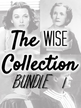 The WISE Collection (Women in Science & Engineering) BUNDLE 1 - Great Deal!