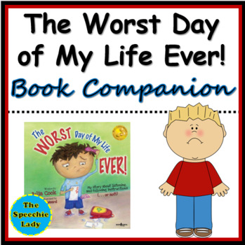 The WORST Day of My Life EVER! - Handout, Worksheets, Posters, Game