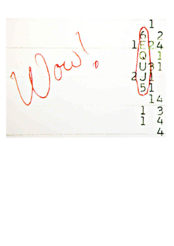 The WOW Signal Word Search
